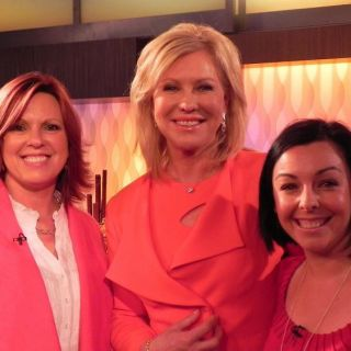 The day I met the DIVINE Deb Webber (and appeared on live TV!)