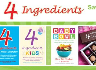 Kitchen Wisdom with Kim McCosker (the fabulous 4 Ingredients cooking queen!)