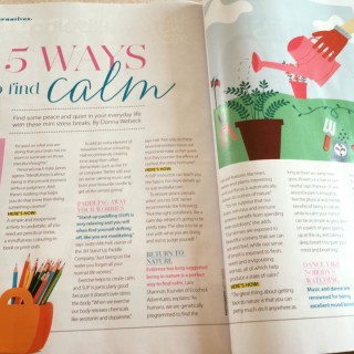 Good Health Magazine: 5 ways to find calm