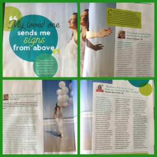 "Good Health Magazine: ""My loved ones send me signs from above"""