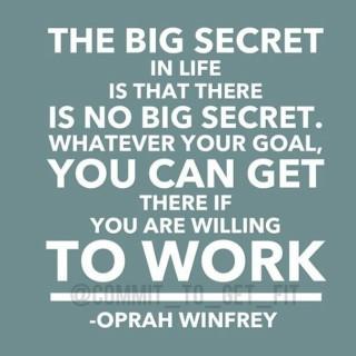 Oprah lesson 16: The big secret