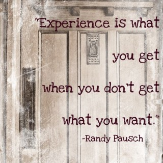 """Oprah lesson 21 – """"Experience is what you get when you don't get what you want"""""""