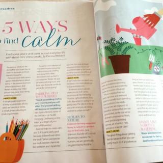 Good Health Magazine: 5 ways to find calm